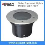 Φ120x90mm Round Solar Paver Lights Solar Underground Lights Solar In-ground Lights IP68 for Landscaping Plaza Square