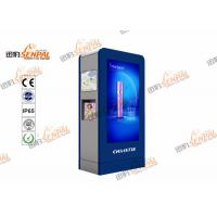 High Brightness LCD Digital Signage Totem With Inteligent Air Conditioner System