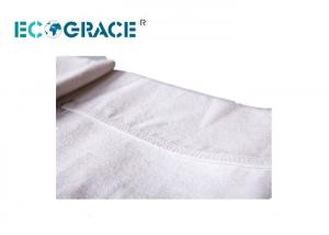 China Water and Oil Repellent Polyester Filter Bags / Replacement Dust Collector Bags on sale