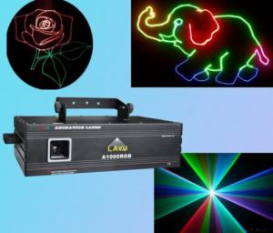 China 1w Rgb Cartoon Laser Light on sale