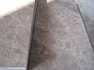 China China Building Decoration polished Light Emperador marble slabs on sale