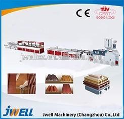 China Jwell wood-plastic recycling extruder machine/extruder machinery manufacturer on sale