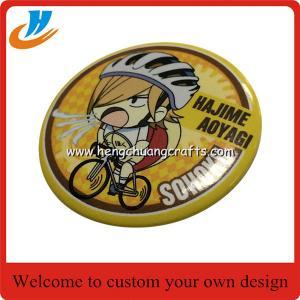 China Cheap Metal Button Badge/ Mirror Button Badge Pin/ Wholesale Custom Tin Badge on sale