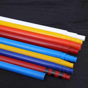 China Glossy Surface Telescoping Fiberglass Poles Wear Resistance Colorful on sale