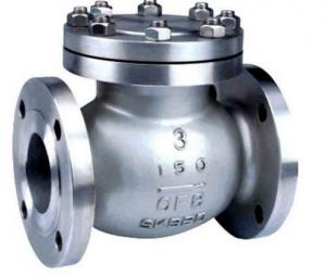 China API ISO CE Standard Cast Check Valve , Stainless Steel Swing Check Valve on sale