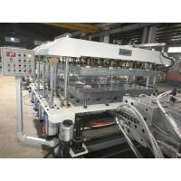 China 2mm Advertising PVC Foam Board Extrusion Line 250kg/H on sale