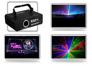 China 1w Rgb Animation Laser / Full Color Dj Disco Laser Lights on sale