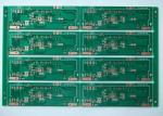 China 1.6mm 4 Layer OSP Multi Layer PCB Green Solder Mask for Motor Audio Devices wholesale