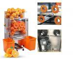 Electric Commercial Auto Feed Orange Juice Squeezer Machine , Orange Press Juicer