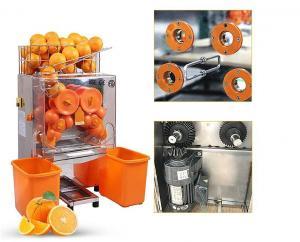 China Anúncio publicitário automático resistente da máquina alaranjada profissional do Juicer on sale