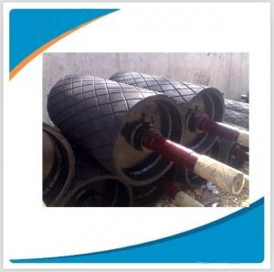 China China manufacturer conveyor components of flat belt drive pulley on sale