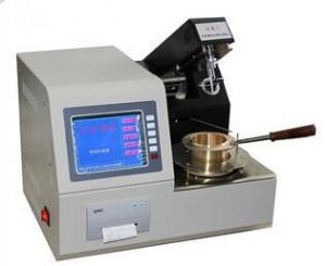 China EN ISO 2592 ASTM D92 Flammability Tester Cleveland Open Cup Flash Point Testing Equipment on sale