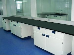China Floor Steel Modular Laboratory Furniture 12.7mm Solid Physicochemical Board on sale
