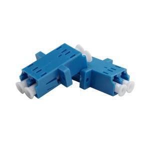 China Compact Design Fiber Optic Accessories Female To Female Lc Fiber Coupler on sale
