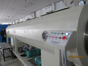 China Construction PVC Pipe Extrusion Line Digital Control With Twin Screw on sale