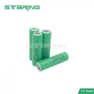 China 20A Battery INR18650 25R / 3.6v 2500mAh Electronic Cigarette Long Battery on sale