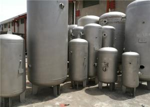 China 232psi Pressure Horizontal Air Compressor Tank , Water / Gas / Propane Storage Tanks on sale
