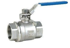 China 1/2 Female Thread Stainless Steel Ball Valve Wcb / 304 / 316 1000wog CF8M RPTFE PPL Seat PAD on sale
