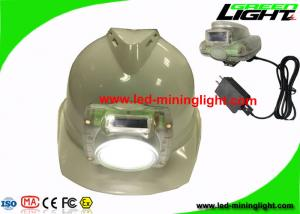 China Transparent Rechargeable 13000Lux LED Mining Light Cap Lamp for Underground Mines Tunnel on sale