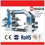 High Speed Express Bag Making Machine , 4 Color Flexo Printing Machine
