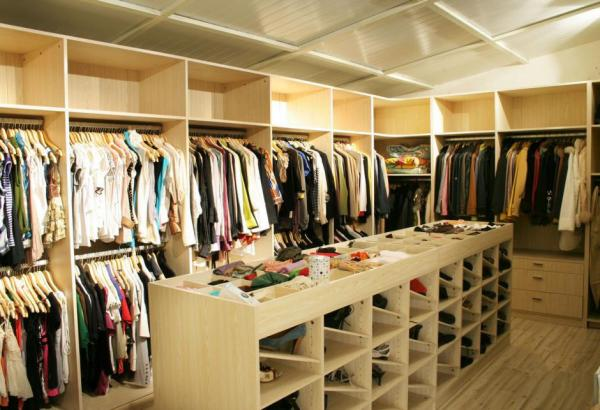 Attractive Walk In Closet Furniture, Coat Closet Armoire, Wardrobe Systems Images