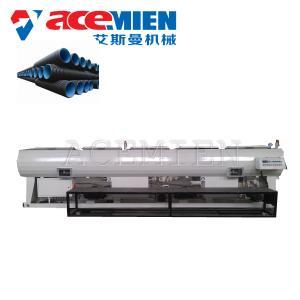 China HDPE PPR PP PE Pipe Machine , Plastic Pipe Making Machine Single Screw on sale