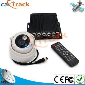 China Car GPS Mobile DVR With 2CH SD Card Slot And 4CH Camera 1CH AVout on sale