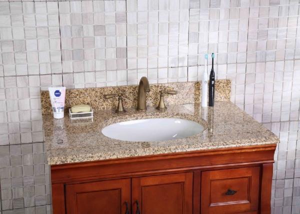 Kitchen Custom Bathroom Vanity Tops Premade With Undermount Bowl