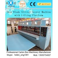 High Speed Double Pre-Scoring Carton Box Cutting Machine / Carton Cutter Machine
