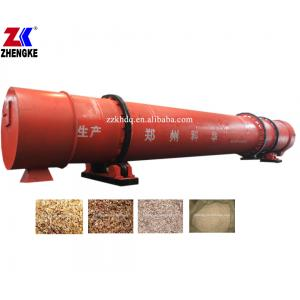 China High capacity up to 45tph iron ore fines rotary dryer on sale
