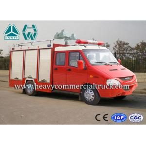 China Oil Saving Iveco Rescue Fire Truck Man - Machine Communication on sale