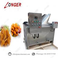 China Stainless Steel Automatic French Fries Deep Fryer Machine|Automatic Fryer Machine|Potato Chips Deep Fryer Machine on sale