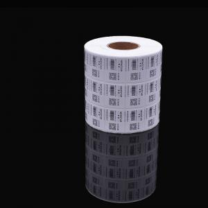 China Direct thermal shipping label 60 x 20mm compatible barcode packing thermal transfer label of ASY on sale