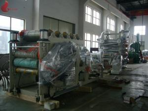 China 800 - 1000 Kg/H Calender Machine For Pvc Film Manufacturing Process on sale