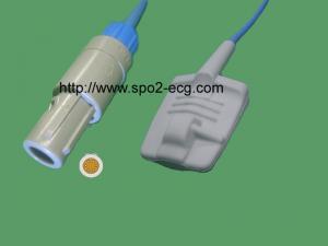 China Datascope Mindray SPO2 Finger Sensor / Infant Spo2 Sensor Round 6 Pin on sale