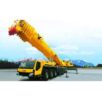High Efficiency Yellow 50T Truck Mounted Crane For Construction Projet