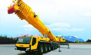 China High Efficiency Yellow 50T Truck Mounted Crane For Construction Projet on sale