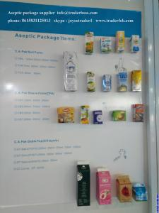 China China Supplier Aseptic package products importers buyers send your inquiry to us Joyce M.G Group Company Limited on sale