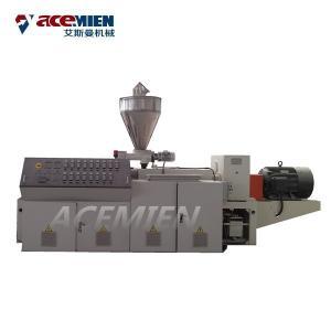 China Plastic PVC Foam Plate Making Machine WPC Crust Chevron Plate Extrusion on sale
