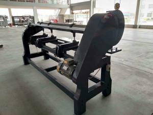 China Corrugated Paperboard Four Link Slotting Machine / Cardboard Slotter on sale