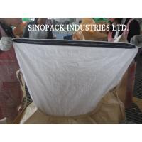 Circular / Tubular PP Woven Big Bag FIBC With Zipper Closure Super Sack