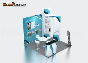 China Trade Fair Tension Fabric Booth Shape Custom Aluminum Trade Show Booths 10x10 on sale