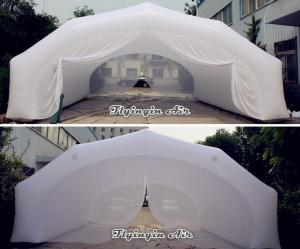 China 8m*5m White Stage Tunnel, Inflatable Wedding Tent for Wedding and Concert on sale