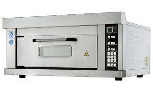 China 2 Trays Per Chamber / Electric Baking Ovens with Micro - computer Intelligent Control Smart Preset on sale