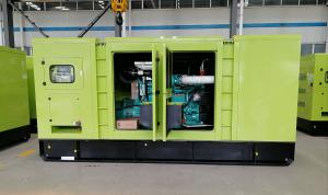 China Silence enclosure 500kw Cummins diesel generator kta19 - g8 engine 625kva genset power on sale