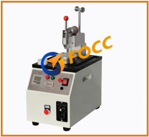 China Central Pressure Fiber Optic Polishing Machine For Rework / Ferrule Polishing on sale