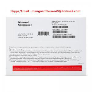 Quality Microsoft Authorized Software Windows Server 2012 Standard R2 32 / 64 Bits for sale