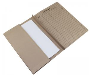 China Portfolio a4 Paper Folder Custom Office Supply File With String on sale