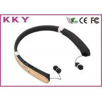 Wireless Neckband Headphones with 18 Hours Play Time for Cellular Mobile Phone