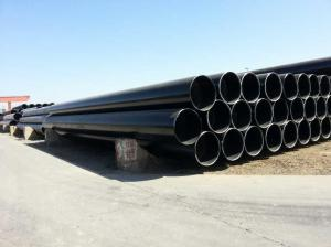 China ASTM A672 C70 CL22 Electric Fusion Welded LSAW steel pipes for medium temperature & high pressure on sale